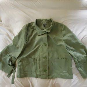Ann Taylor Factory Safari Style Shirt.